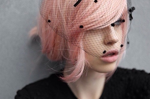 Peachy Pink: If your afraid of looking like a Barbie with pink hair, try something more peach or salmon toned.