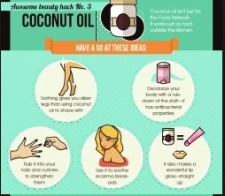 Great ideas for coconut oil !!