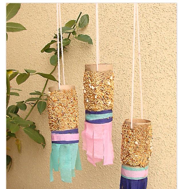 Hanging bird feeders 🐣