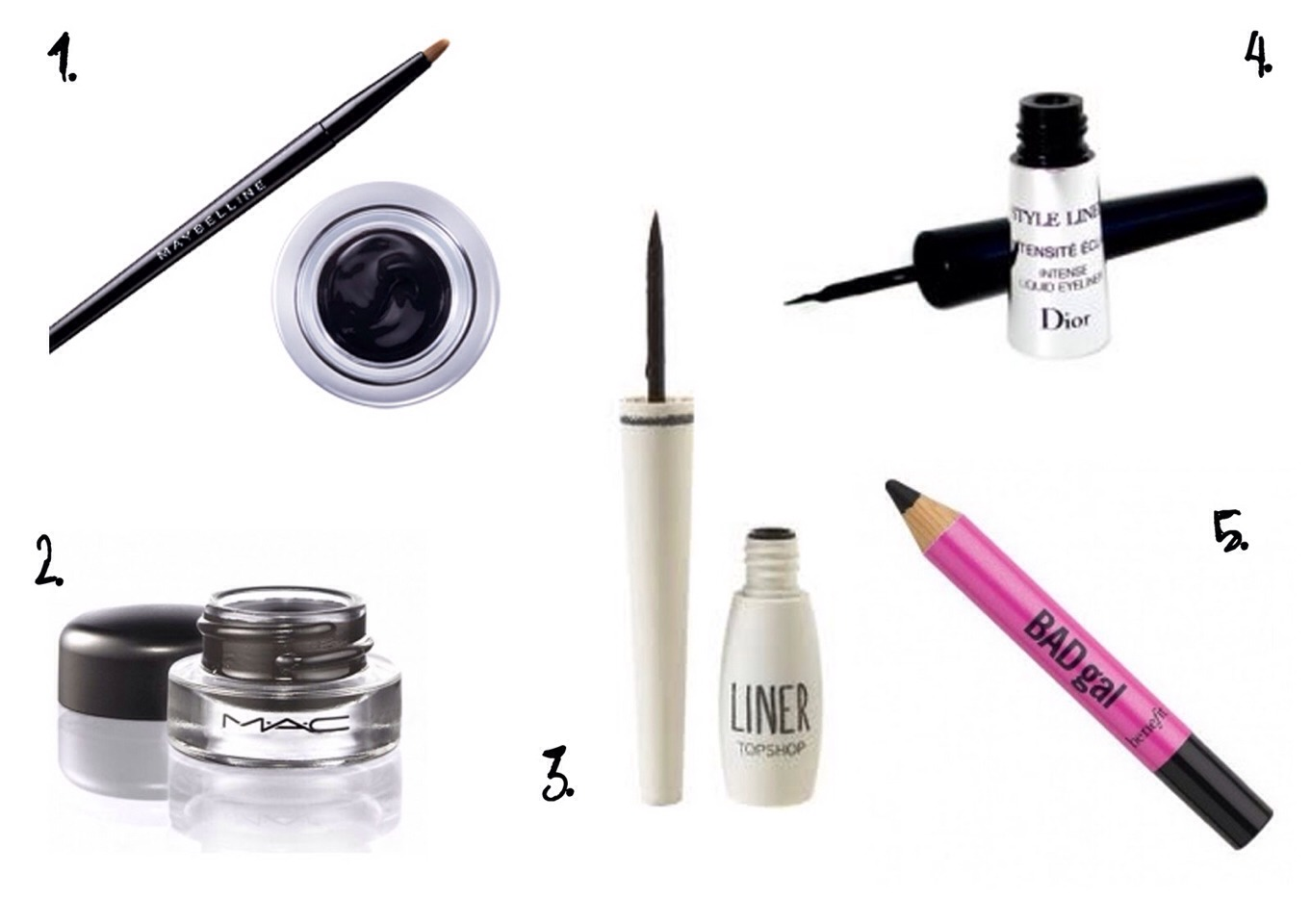 If you want your eyes to appear smaller apply black liner to them !