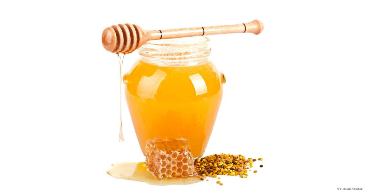 Washing your face with (real) honey is actually very good for you since it contains antibacterial properties