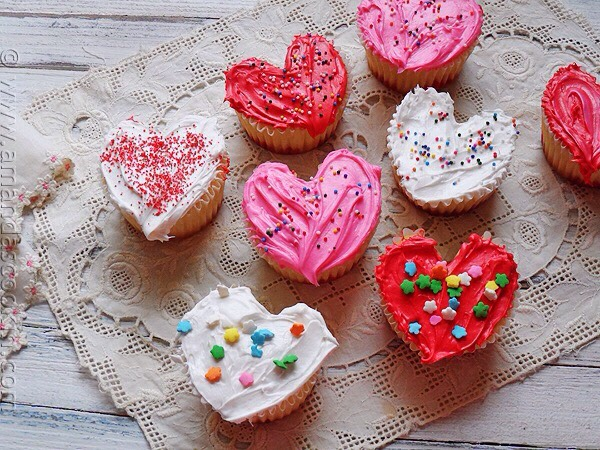 You can bake cupcake muffins without buying a cupcake hearts tray.