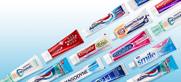 You can use any toothpaste! *whittening toothpaste may show better results*