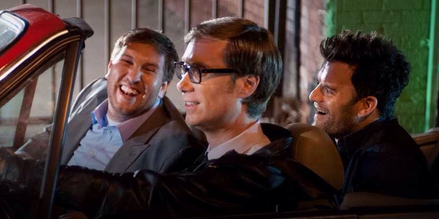 """8. """"Hello Ladies"""" (HBO) What it's about: A clueless British web designer (Stephen Merchant) crosses the pond in search of a soulmate. He tries to pick up American women in the most awkward ways possible."""
