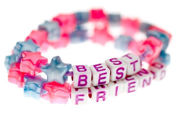 Get best friend bracelet👍