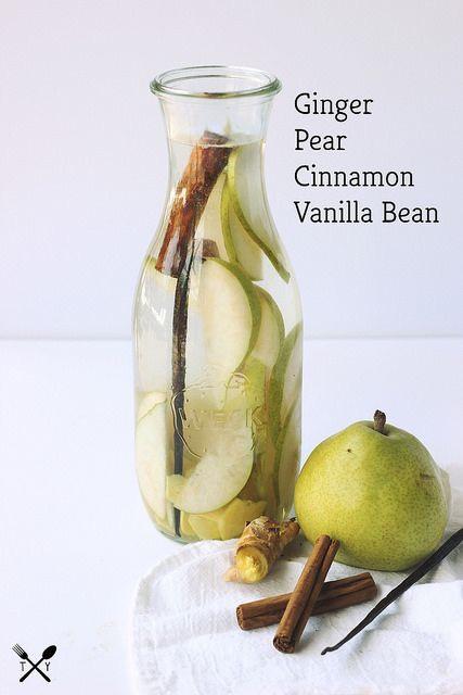 Ginger pear cinnamon vanilla bean