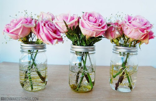 Yes mason jar decor is wildly popular. However it does lend a bit of a juvenile feel to the place...