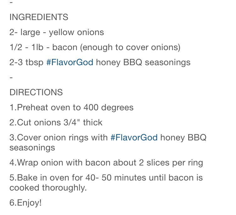 The recipe is from flavorGod seasoning company. But I think you can use any other company seasoning.