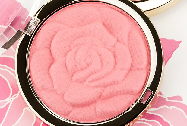 lastly aply some light pink blush to add warmth and colour to the cheeks