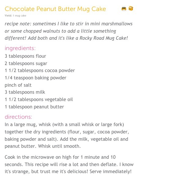 Microwave Cake In A Mug (5 Minute Recipe) By Hannah Lee