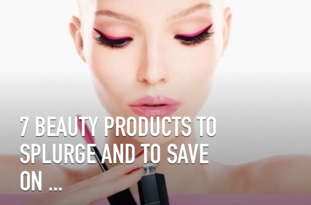 Products are fun and can add to our confidence, but most of us don't want to spend a fortune and need to know which beauty products to splurge and to save on! There is a significant difference in the quality of some products that simply can't compare to cheaper brands.
