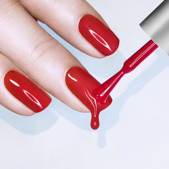 Roll your nail polish rather than shaking it to get rid of unwanted bubbles