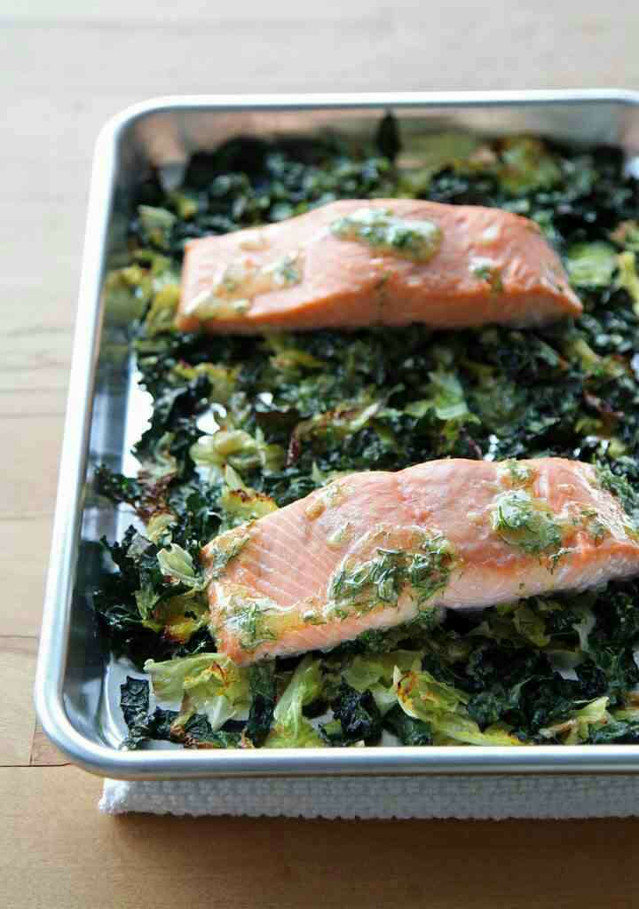Salmon is high in protein, omega 3s, and reduces inflammation!