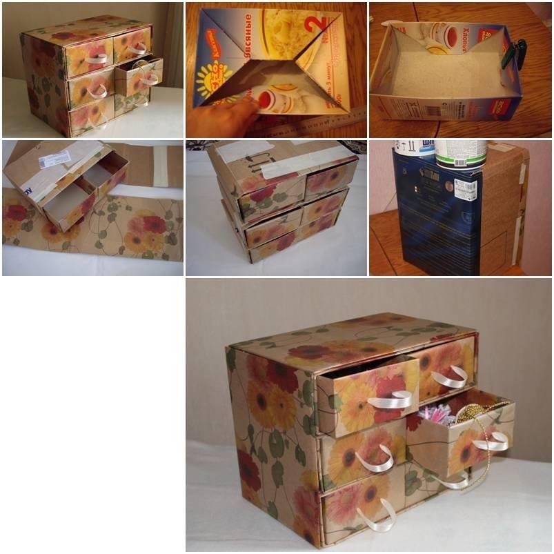Cardboard chest