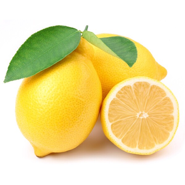 Take a lemon and cut it in half and squeeze all the juice into a dish or bowl