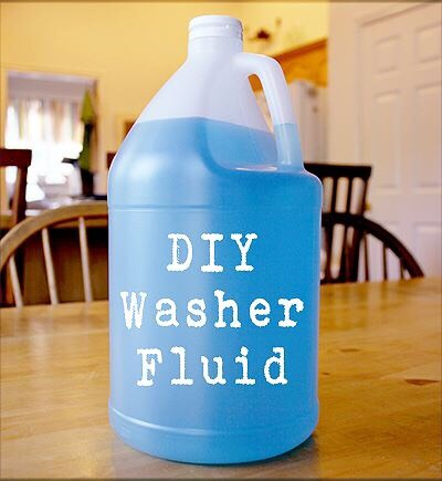 You can make your own washer fluid at home that does not freeze, all you need is 1 gallon of water, and 8 FL Oz of isopropyl.