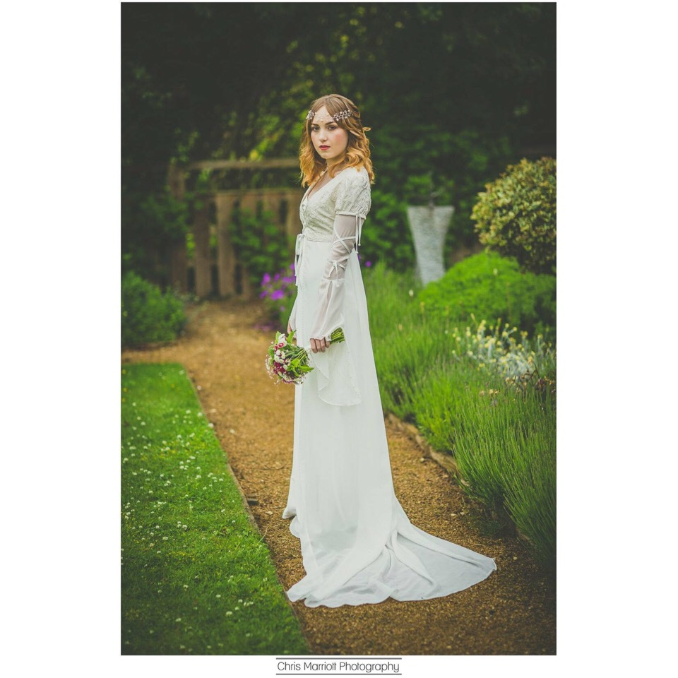 So maybe it's best to spend a little more and be sure what your getting This dress is from blossom and belle hand made in England