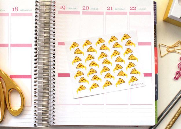 15. A set of stickers to help you plan important dates.