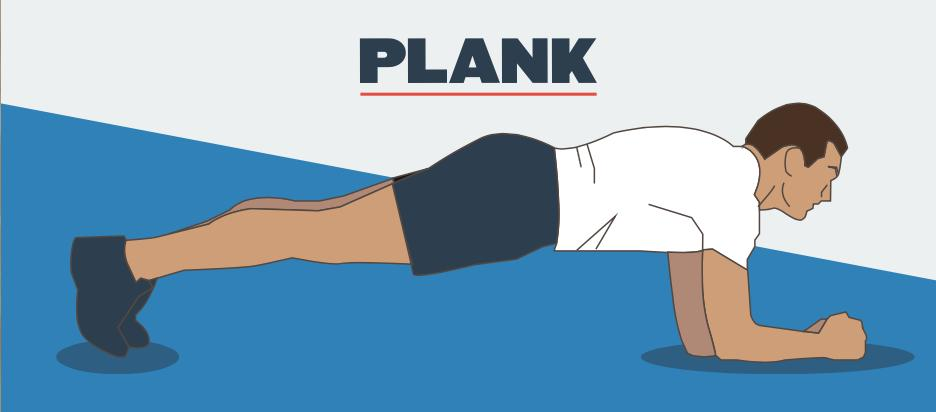 Planks  2 SETS / 30 SECONDS