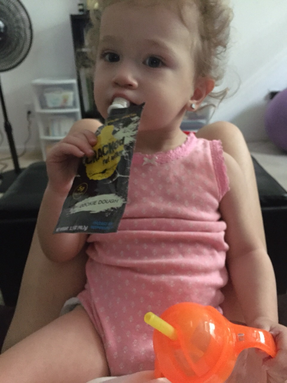 My daughter loves cracked nut butter 😊