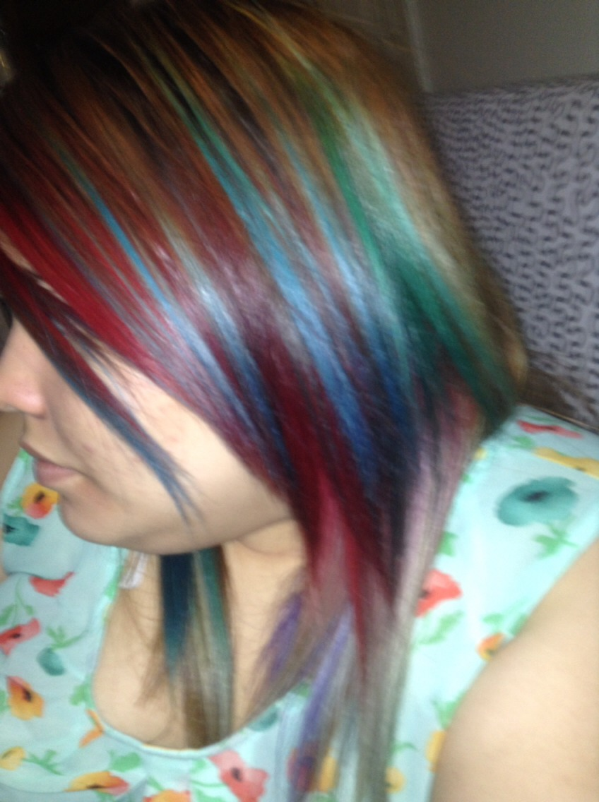 how to fully get wash out dye out