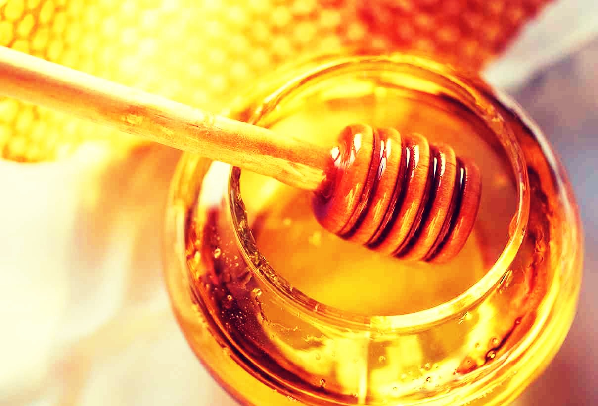 Just mix a tablespoon of honey and a couple of handfuls of sea salt
