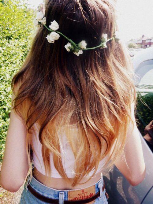 White tank + denim + floral headband = perfect spring style