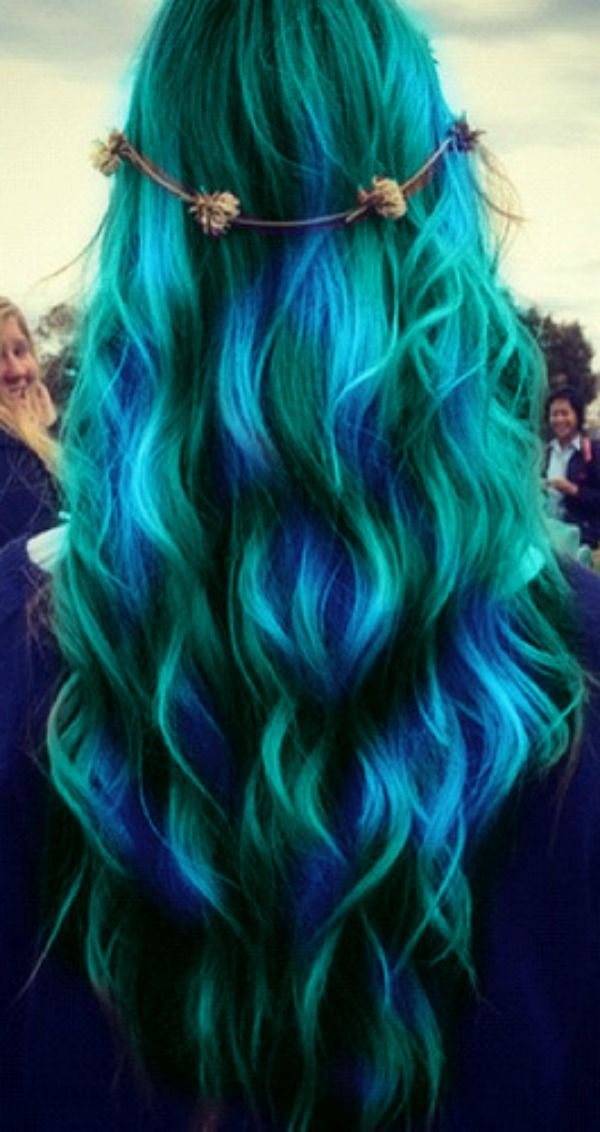 Musely - Peacock hairstyle color