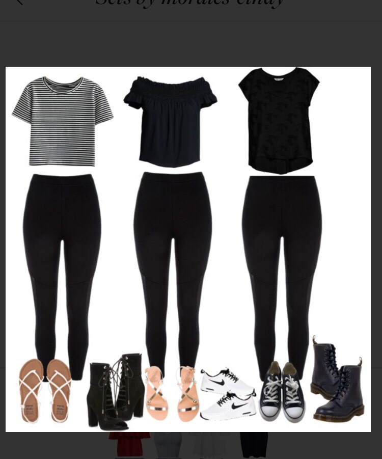 Different ways to wear leggings but not be basic