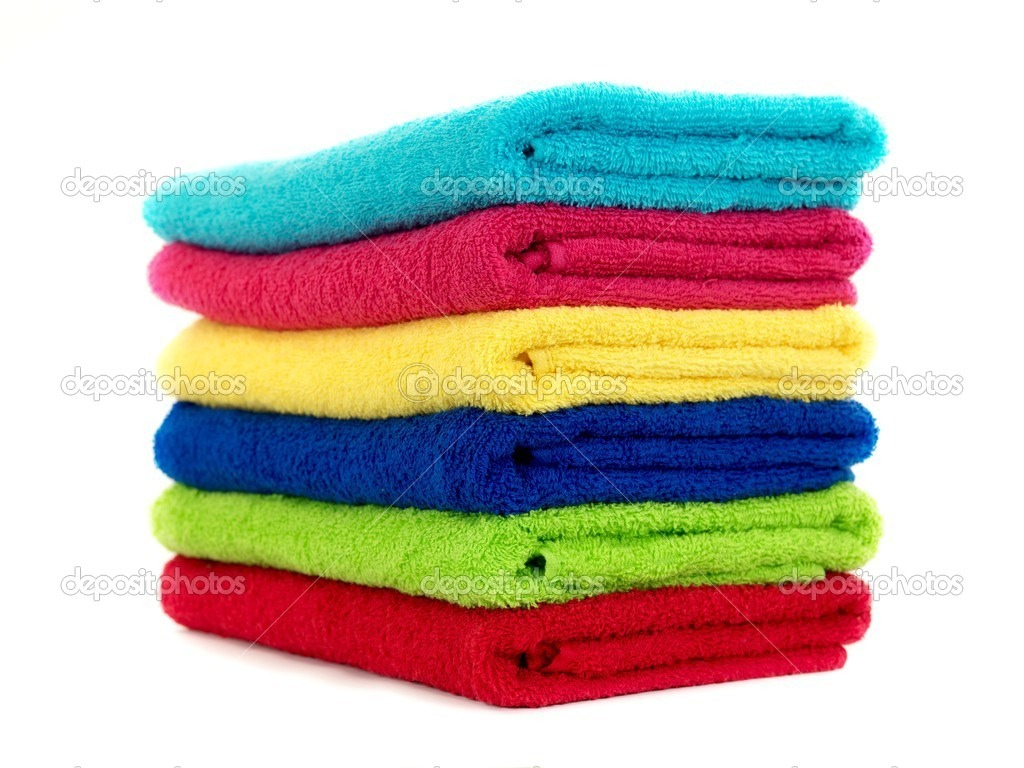 1. Wash your towel with hot water and 1 cup of white vineger(skip the detergent or fabric softener).  2. Run the towel for second time 1/2  cup of baking soda and hot water( no detergent again) 3.dry your towel on hottest setting until thoroughly dry. You can also hang them outside in the sun