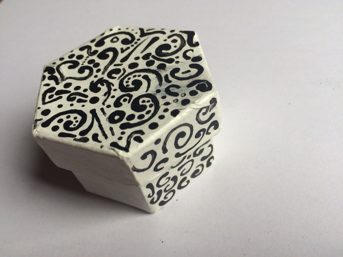 Also try other shaped boxes or designs