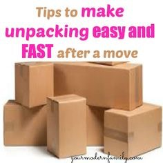 1. Start Early  No matter how good you are, packing always takes longer than you think. Start two or three weeks before moving day. Pack items you use least first. I always start with china and books.