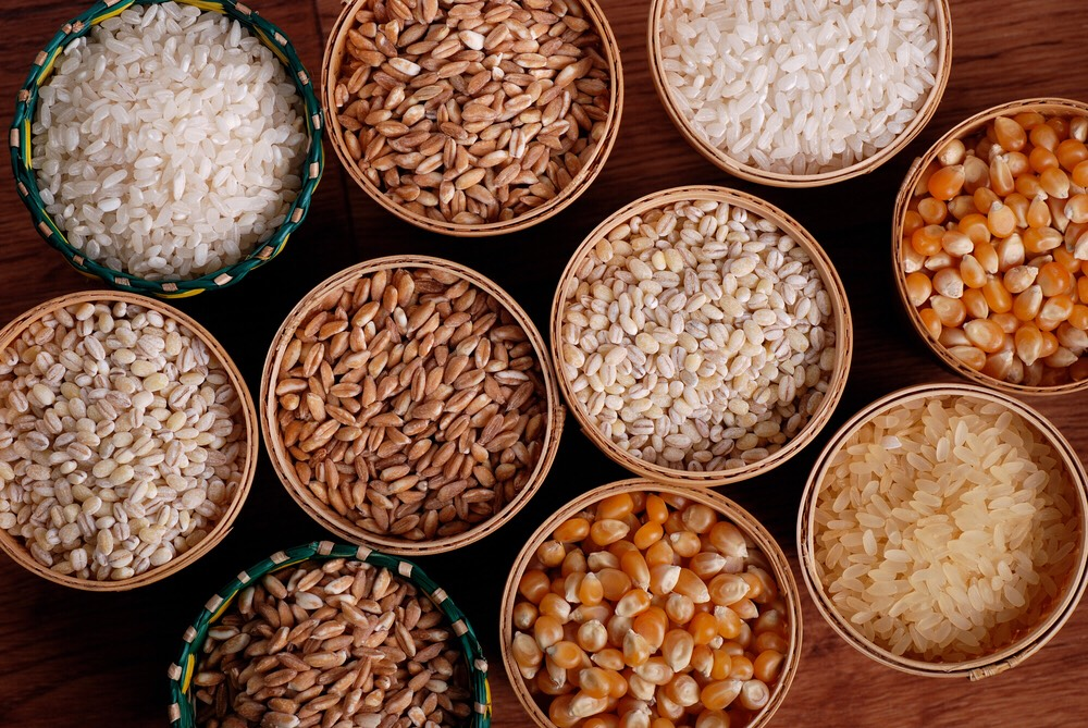 adding whole grains help burn fat and prevent heart disease