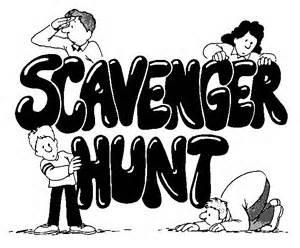 1. Scavenger Hunt — it's always fun to have some sort of scavenger hunt for parties. You can make it a hunt for items found in nature. Just give your guests a list of the things they need to find. It could also be based on color or another theme.