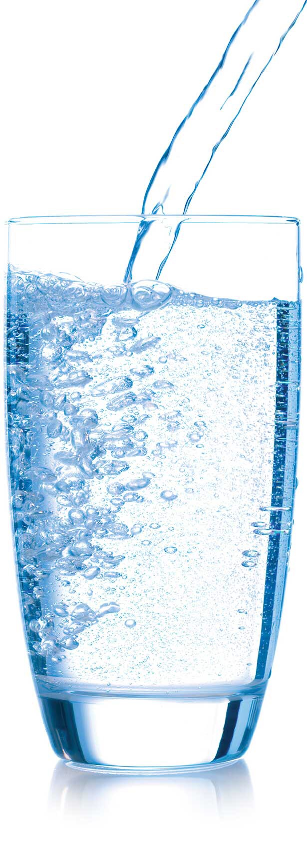 Drink water! 6-8 cups a day