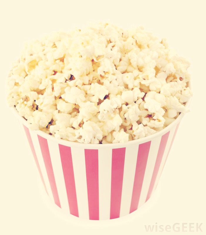 Who can have a movie marathon without popcorn?!