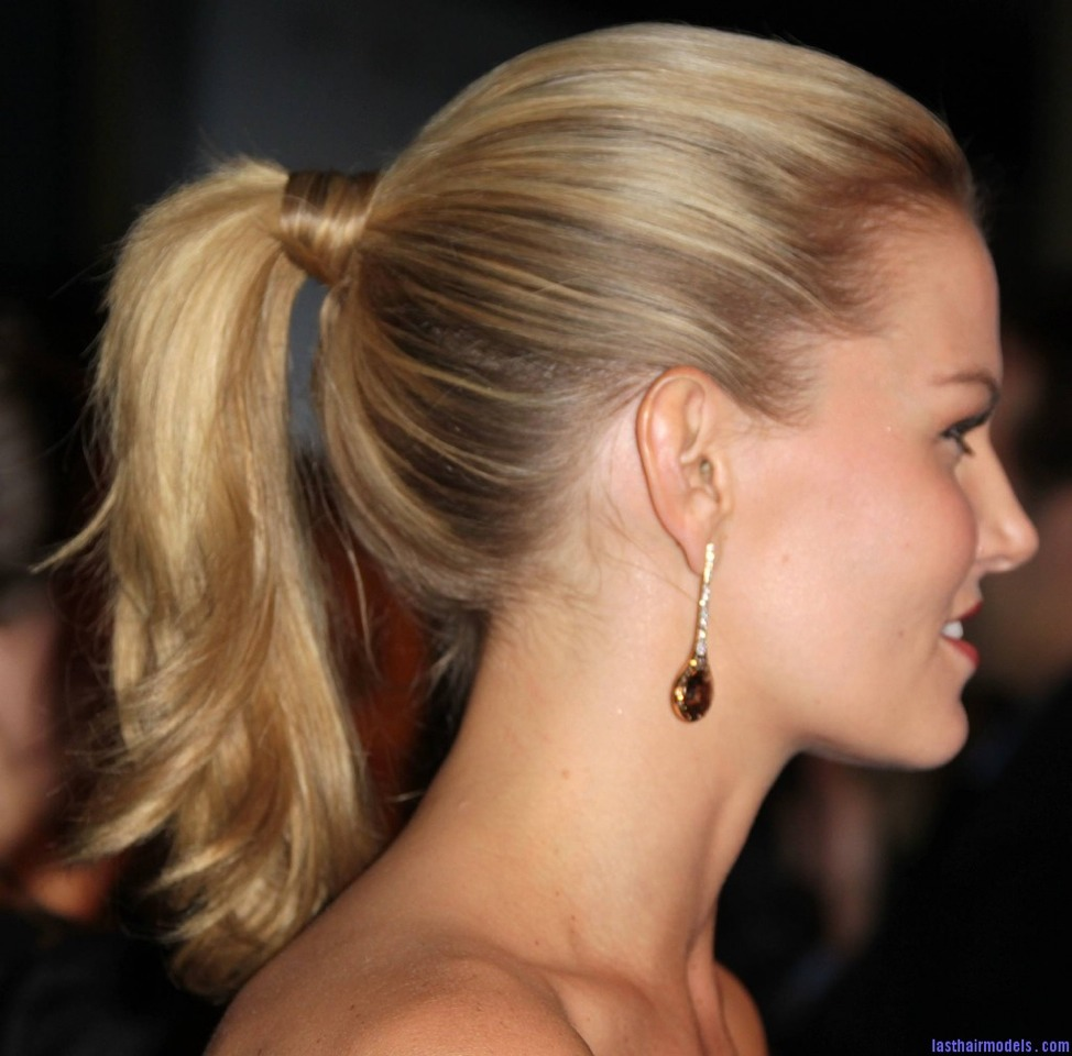Try not to hair your hair up too much as it pulls your hair , damaging it