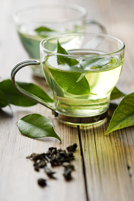 Green tea is a delicious, warm beverage that helps to boost metabolism and aid with weight loss.