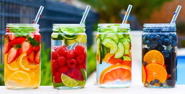 Drinks that have fruits in it or even veggies are great to detox because they are amazing to start consuming more water and they are delicious!