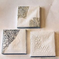 Add texture to the canvases OR attach pictures or a favorite part of the recipients favorite book