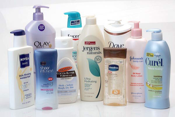 Lotions. Lotions will help your skin by what's tracing your skin and tightening the pores.