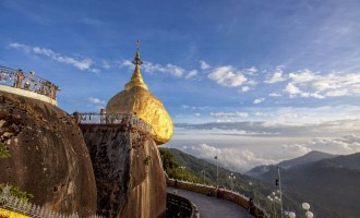 Kyaiktiyoe or the Golden rock is a spectacular and a sacred place (to Buddhists) in Mon state. The pagoda is built since the life time of Buddha.  Must do... Learn the history and see the panoramic views