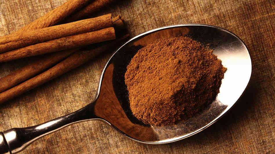 Ground Cinnamon.