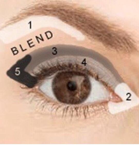 Perfect eyeshadow