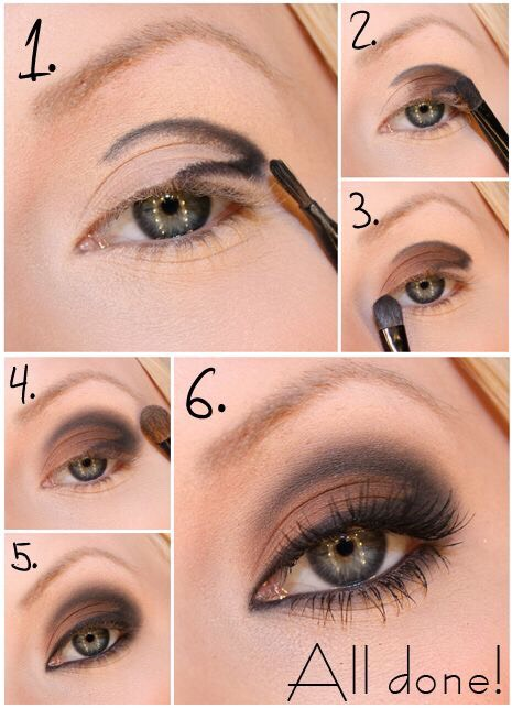 Easy Eye Makeup For Tired Eyes: Step By Step Easy Eye Makeup Tutorials..!👀😍 By Ruhy Usman