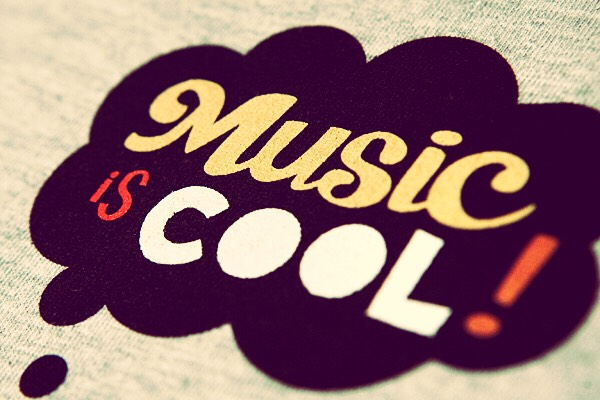 Music is for cool people..