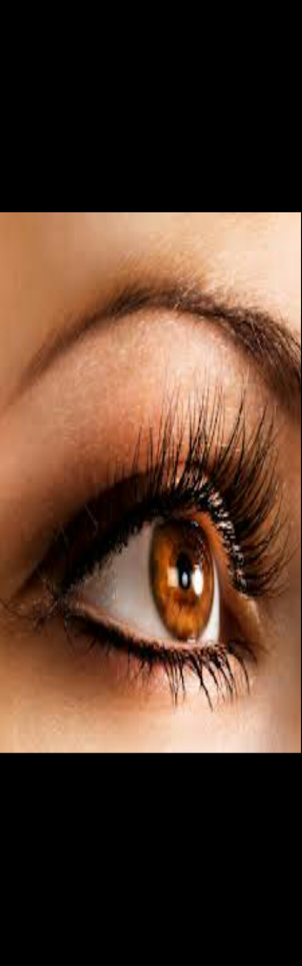 Now you have eyelashes that look thicker and more fuller!