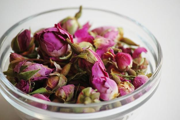 Spritz it up with rosewater:  http://www.delightedmomma.com/2011/09/skin-care-tip-of-week-diy-rose-water.html