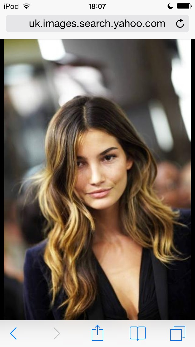 This is ombré btw