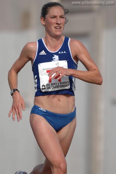 Even thought this women looks like she has no fat on her body, and looks healthy... Where's the beef?? Long distance runners don't gain muscle. No one wants to NOT gain muscle!